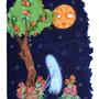 Haunted Peach Tree by odditiesbyangela