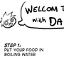 Cooking with Damien! by Soupcat