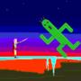 Lightning vs. Gigantuar by FunnyCatZ