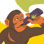 Dawn Of The Vaping Apes by coconutbrainsurgery