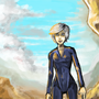 Desert Girl by FLASHYANIMATION