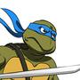 Leonardo leads.