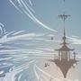 Sky Fortress by HowardWimshurst