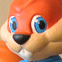 Conker the Squirrel Sculpture