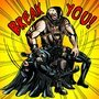 Movie Bane Breaks Batman color by eMokid64