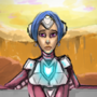 Future Girl Paint by FLASHYANIMATION