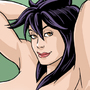 Naked Busty Ninja