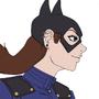 Batgirl Flats by Shadowblackfox