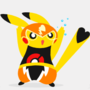 Wrestling pikachu by Diives