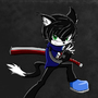 Sam Tsuki - The Cat by SamTsuki
