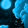 Once in a blue moon by olive6608