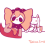 Charlotte and kyubey by Diives