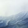 Stormy sea by Stellarian