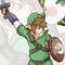 Link VS Winged Lizard