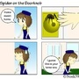 Spider on the Doorknob by Nosh59