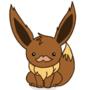 Pokemon Evoli Fanart (animated) by yoshik0