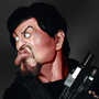 Sylvester Stallone-Barney Ross by hmleao