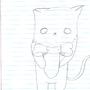 A Shy Cat by Bucker9000
