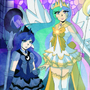 Sailor Celestia and Luna