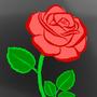 Lover's Rose by RavielthePhantom