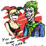 Joker and Harley by mannyzworld