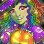 Gummy Worm Witch by doublemaximus