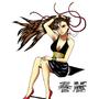 Chun Li Dress outfit colored by eMokid64