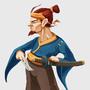 The weathered samurai