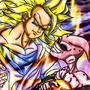 Goku vz Kid Buu by Fulldeamon
