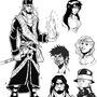 Character designs by Skoobart