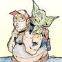 Yoda by Skoobart