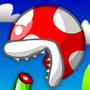 Piranha Plant eats itself