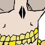 flat line skull by Magic-machine-hands