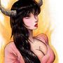 Devil woman by FASSLAYER