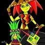 A familiar trio by TreasureMan