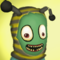 Salad Fingers Bee GreetingCard