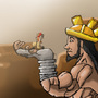 God Usopp by Mullemuh
