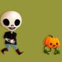 Halloween Walking cycle
