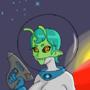 Zolett In Space by DemonGuyX