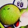 Yoshi Pumpkin! by doublemaximus