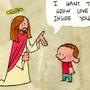 Jesus is love. by ToonHole