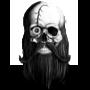 Pirate skull by ApprenticeBlacksmith