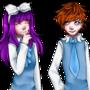 Mikomi and Hanta by MikomiKisomi