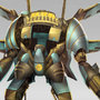 Steampunk Mecha (painting vid) by clayscence