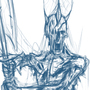 Zombie Lord wip by amejia1924