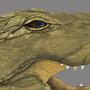 Crocodile by shaggyp