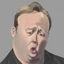 Alex Jones Caricature by reanimatearts