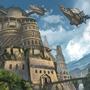Sky Pirate Haven by JonWing