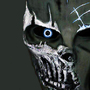 BlueDarkRevenge Paintball Mask by wernerzimmer