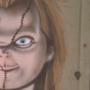 Chucky Decor by reanimatearts